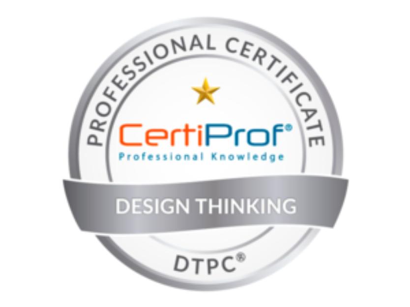 Certificación Desing Thinking DTPC