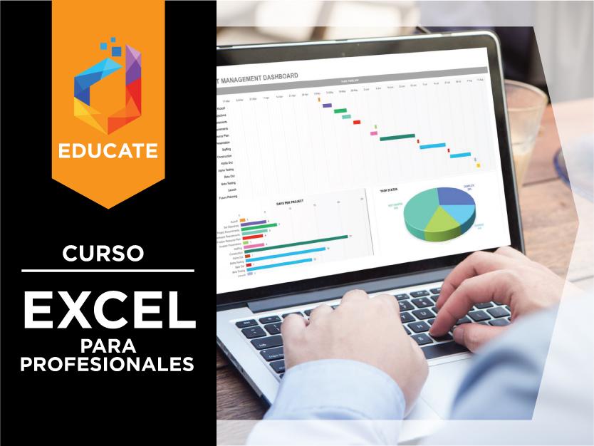 Excel para profesionales: Análisis de datos y creación de informes